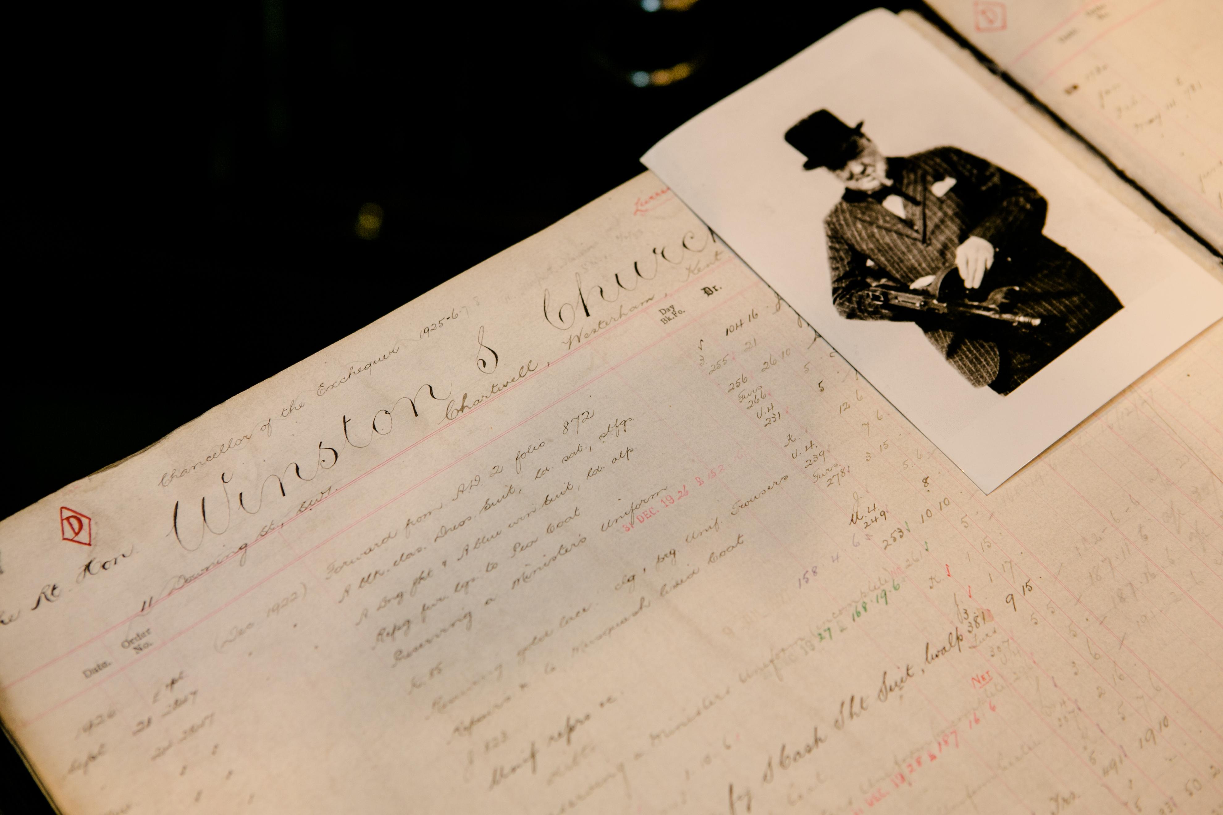 Archive opening Winston Churchill