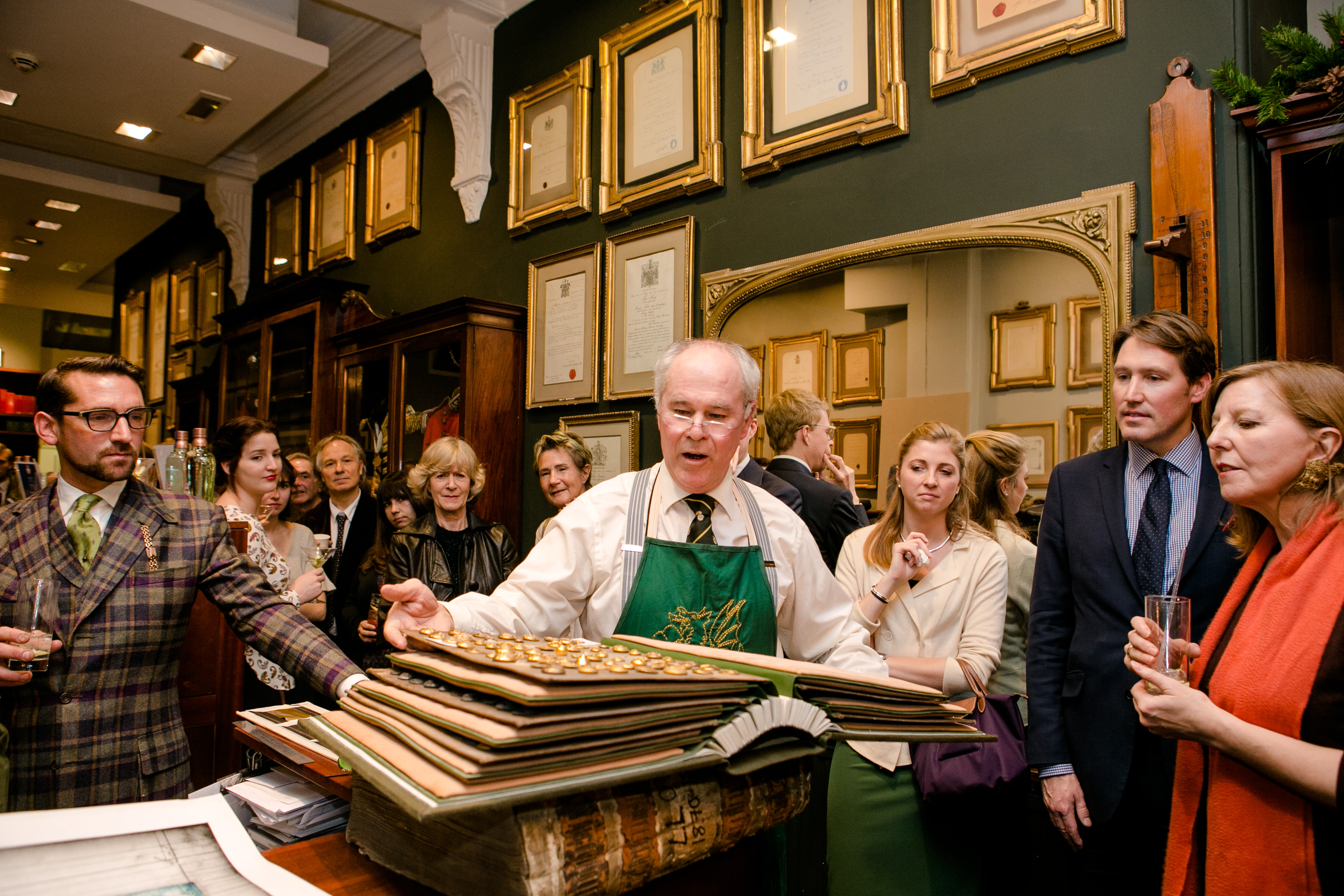Mark Winstanley from the The Wyvern Bindery