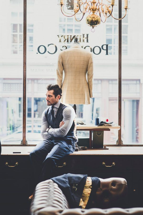David Gandy at Henry Poole
