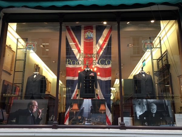 Henry Poole Savile Row Tailors Churchill Designs Bespoke Suits
