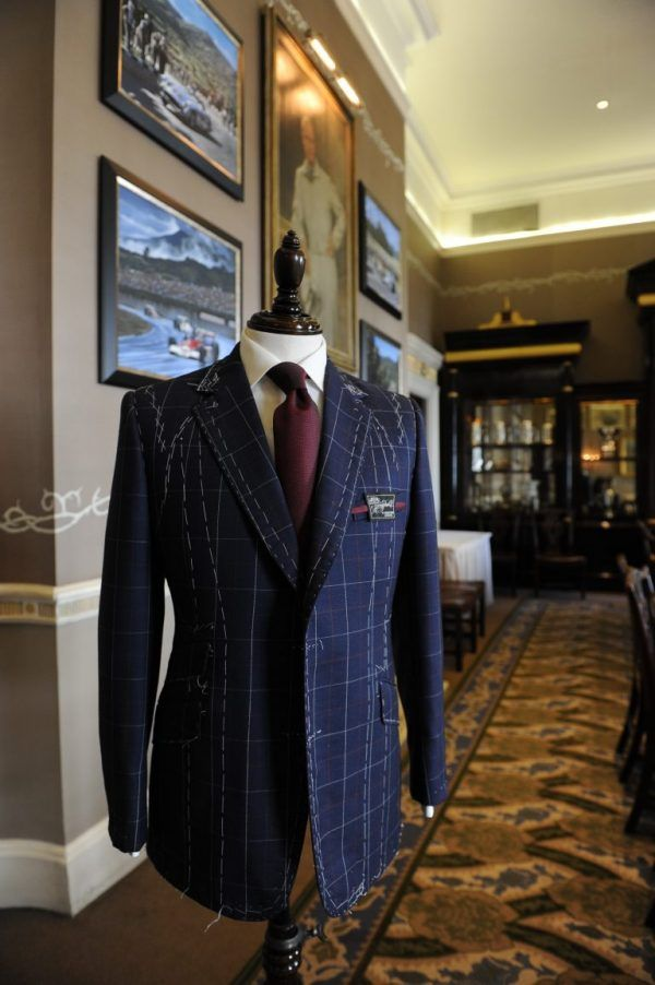 Henry Poole Savile Row Tailors No.15 Segrave Tweed