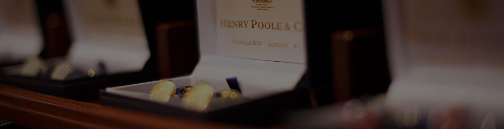 Henry Poole Savile Row Tailors Shop Cufflinks 2