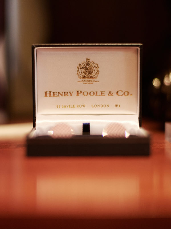 Henry Poole Savile Row Tailors Shop Gift Card 2