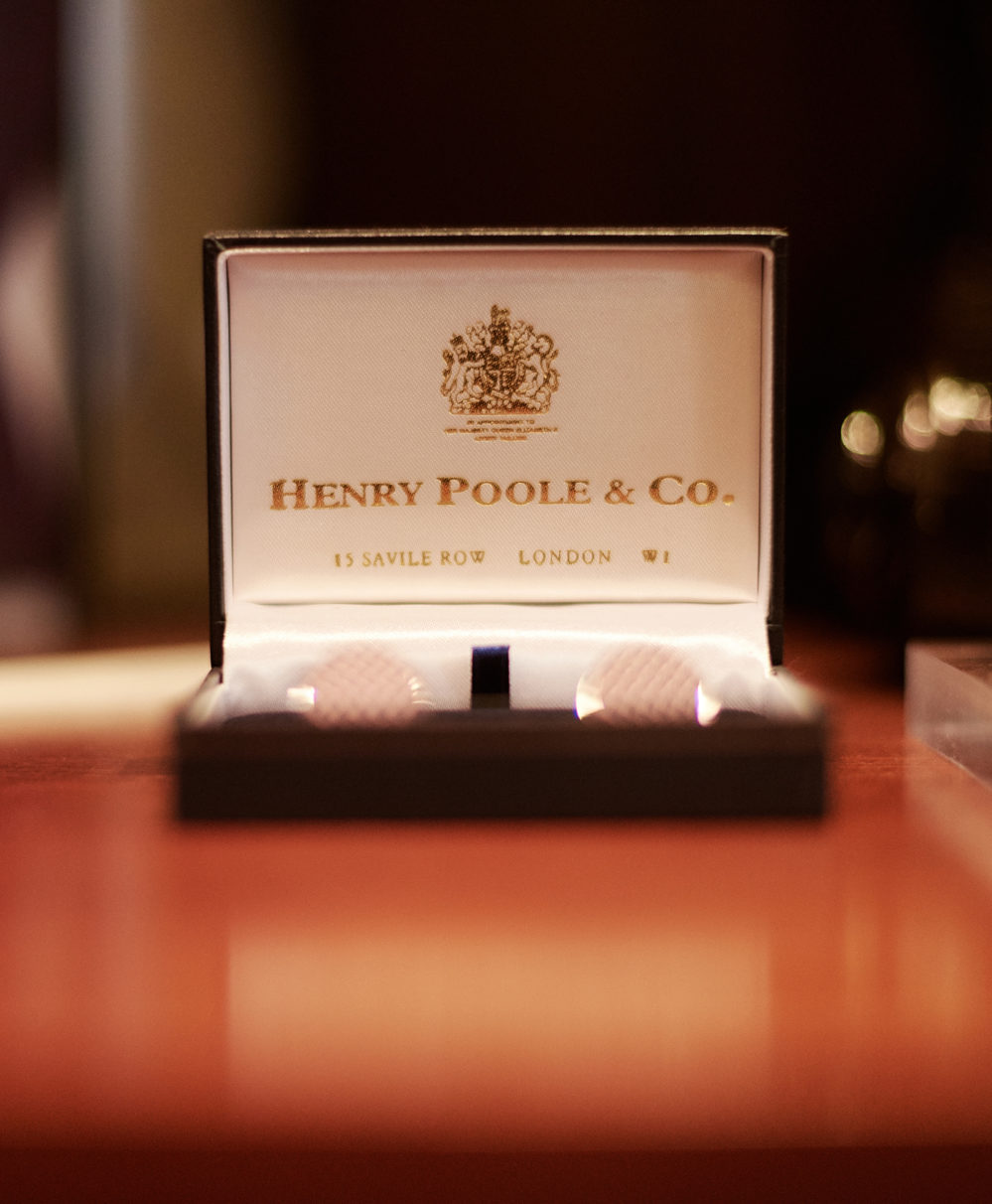 Henry Poole Savile Row Tailors Shop Gift Card