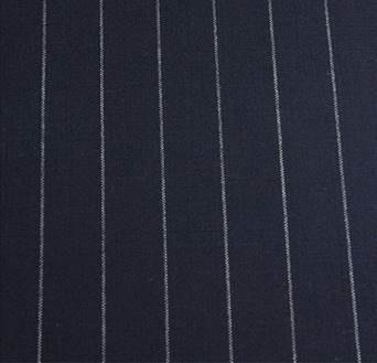 Navy Pinstripe Tropical Worsted Gh 34249