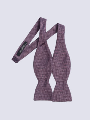 Bow Tie Cundey Weave Pink Jh