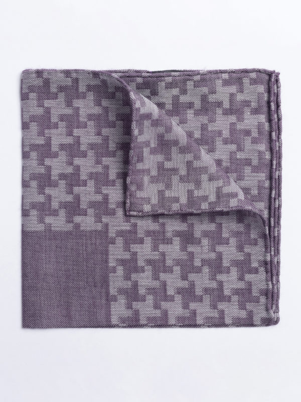 Poc S Large Houndstooth Aubergine On Mauve Jh