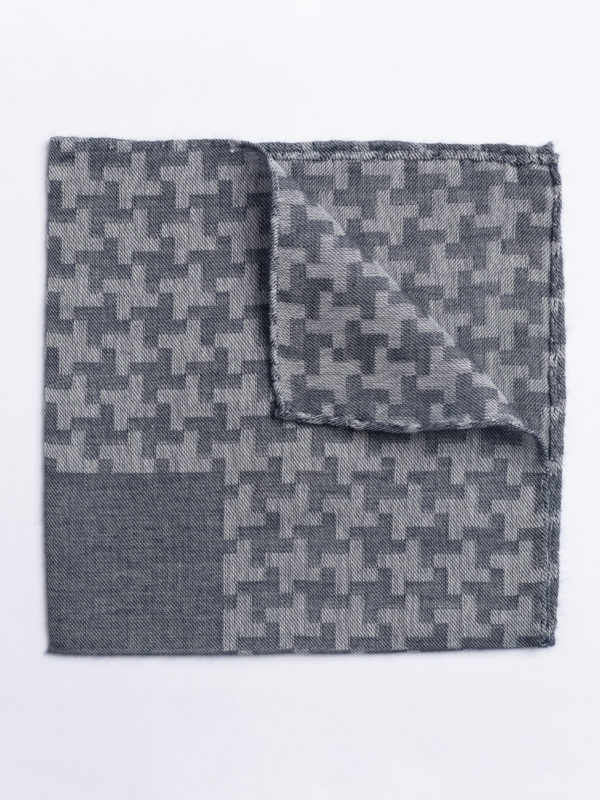 Poc S Large Houndstooth Grey On Grey Jh