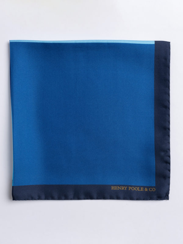 Poc S Shades Of Blue Silk Folded Jh