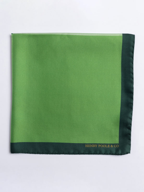 Poc S Shades Of Green Silk Folded Jh