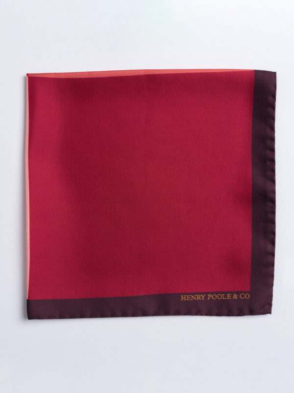 Poc S Shades Of Red Silk Folded Jh