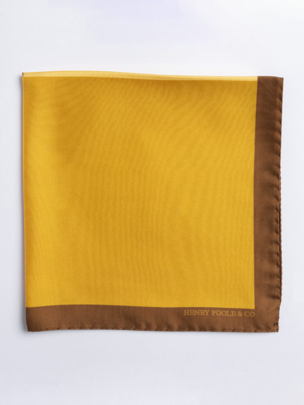Poc S Shades Of Yellow Silk Folded Jh