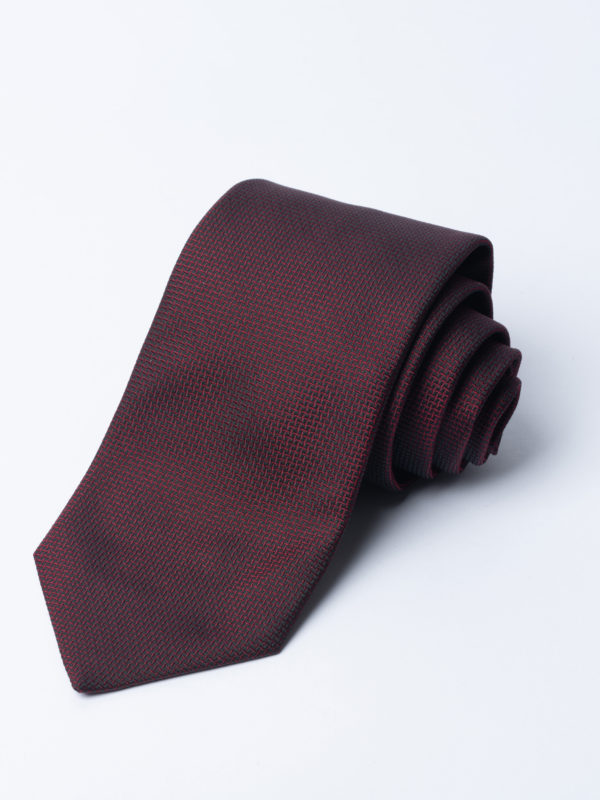 Tie Cundey Weave Burgundy Jh