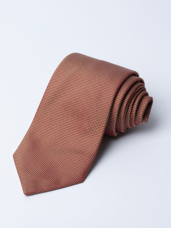 Tie Cundey Weave Gold Jh