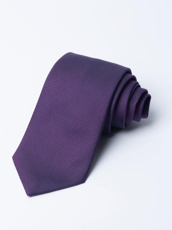 Tie Cundey Weave Purple Jh
