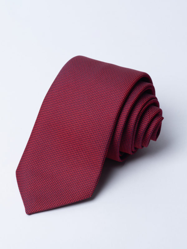 Tie Cundey Weave Red Jh