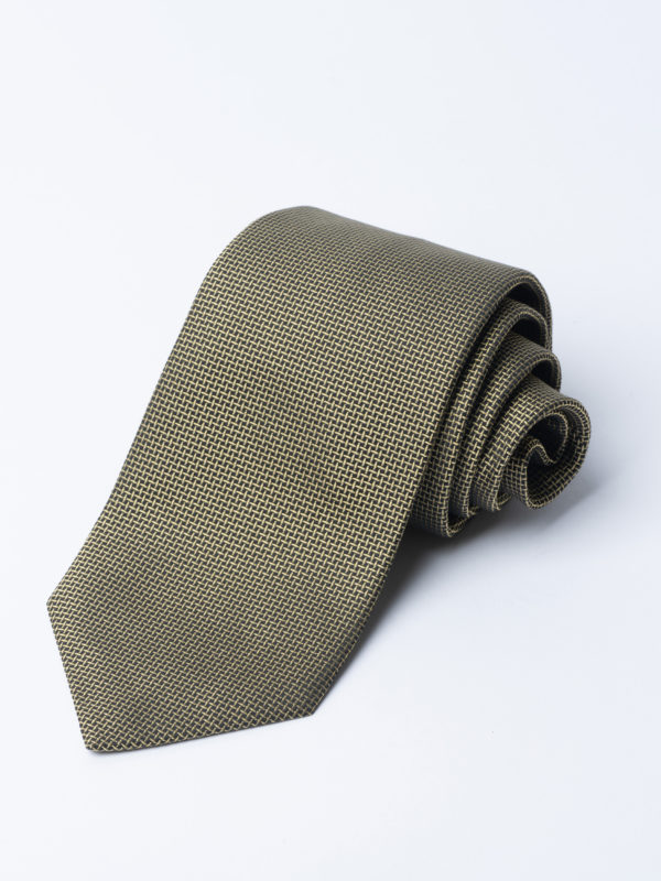 Tie Cundey Weave Yellow Jh