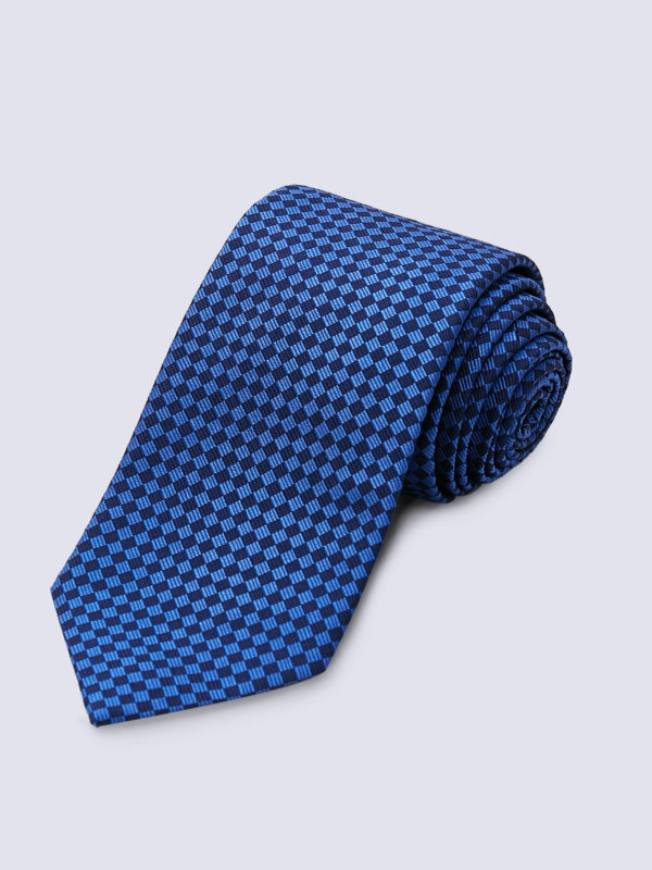 Tie Diamond Dark Blue And Navy Lr
