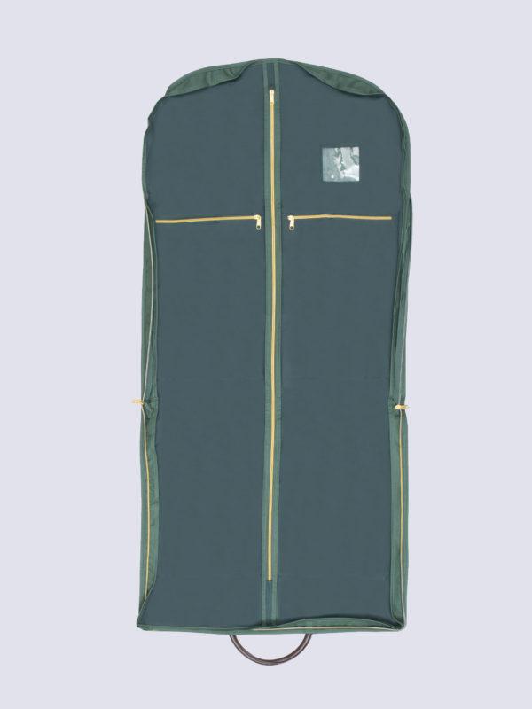 Henry Poole Suit Bag Open
