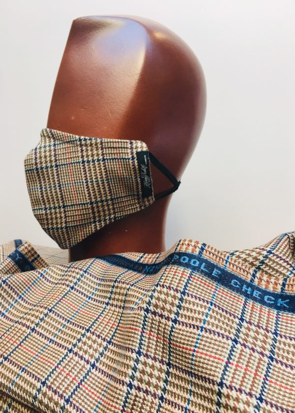 Henry Poole check mask