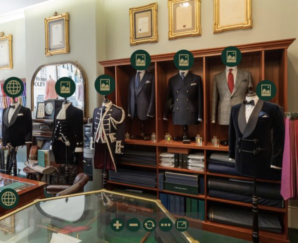 Henry Poole Tailors Savile Row Homepage Virtual Tour